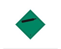 Étiquette de danger Classe 2.2