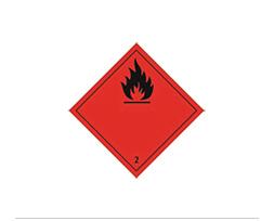 Étiquette de danger Classe 2.1