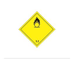 Étiquette de danger Classe 5.1