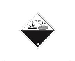 Étiquette de danger Classe 8