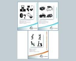 Pack comprenant 3 livrets métiers spécifiques