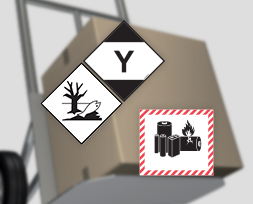 Marquage de danger colis : environnement, Quantité Limitée et Quantité Exceptée