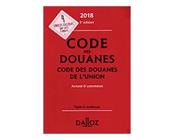 ouvrage code des douanes