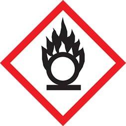 Etiquette Comburant SGH 03