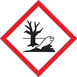 Etiquette Danger pour les organismes aquatiques SGH 09, 20Etiquette Danger pour les organismes aquatiques SGH 09, 20