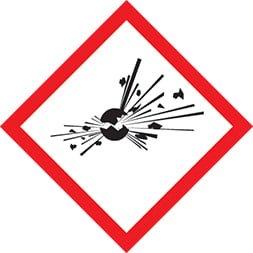 Etiquette Explosif SGH 01