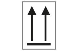 Etiquette N°11 Double flèche de sens