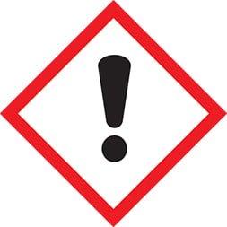 Etiquette Nocif par inhalation ou irritant cutané SGH 07