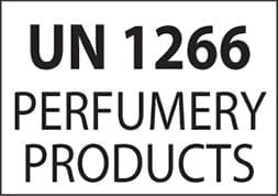 Etiquette IATA UN 1266 perfumery products