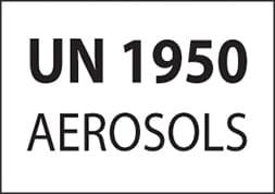 UN 1950 AEROSOLS