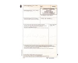 certificat d'origine laser
