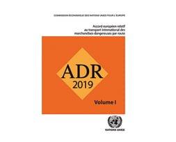 Ouvrage ADR 2019 en 2 volumes + arrêté TMD