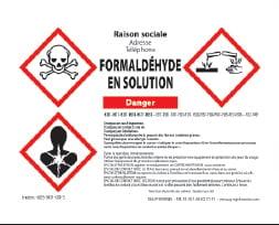 Étiquette de danger CLP