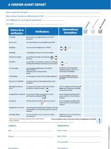 bloc checklist ADR