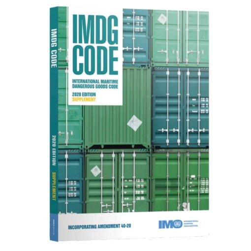 code imdg 40-20 supplément
