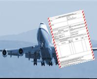 Déclaration expédition aérienne IATA