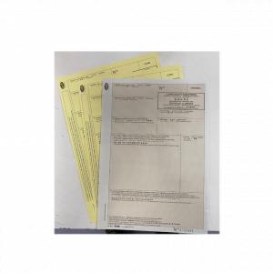 Certificats d'origine enliassés
